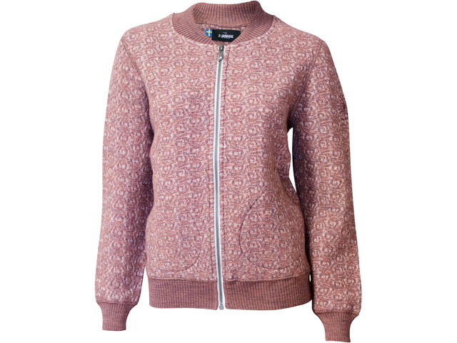 Ivanhoe of Sweden GY Ina Chaqueta Jaquard Mujer, chutney